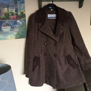 Jessica Simpson Women's sz S wool blend coat EUC